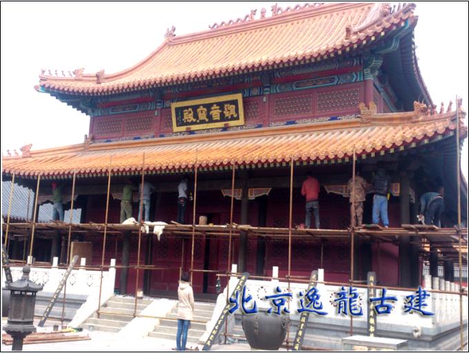 寺庙油漆彩绘修缮