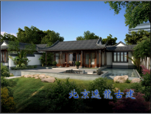 Chinese private hall design
