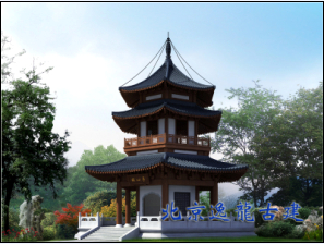 Ancient architecture pavilion design