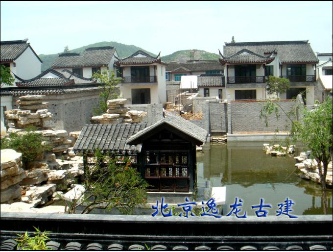中式别墅施工