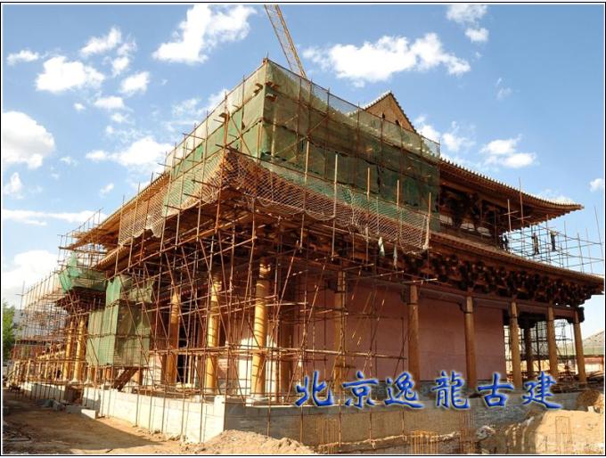 Temple construction site