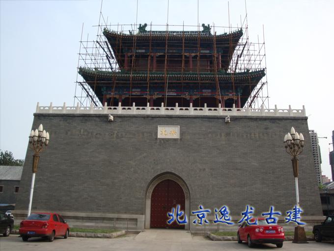 Ancient culture street repair