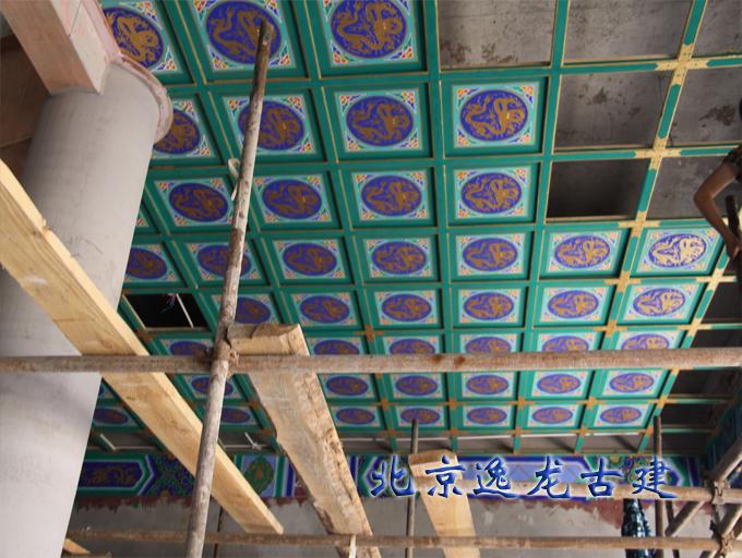 Temple ceiling construction