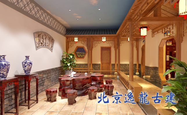 Chinese decoration hotel