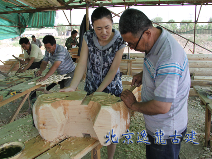 木构件施工