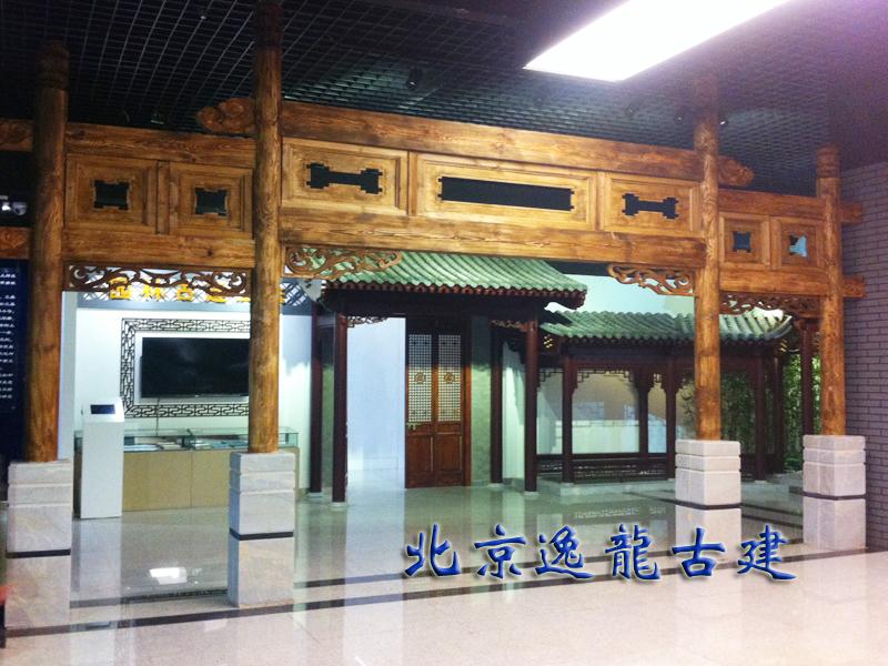 Indoor ancient construction